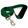 Majestic 1in x 6ft Easy Grip Handle Leash Green By Majestic Pet Products
