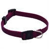8in - 12in Adjustable Safety Cat Collar Burgundy By Pet Products