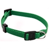 8in - 12in Adjustable Safety Cat Collar Green By Pet Products