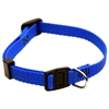 Majestic 8in - 12in Adjustable Safety Cat Collar Blue By Majestic Pet Products