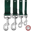 Majestic 3/8in x 4ft Lead Green By Majestic Pet Products