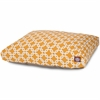 Majestic Yellow Links Medium Rectangle Pet Bed
