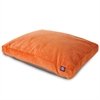 Majestic Orange Villa Collection Medium Rectangle Pet Bed