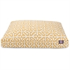 Citrus Aruba Medium Rectangle Pet Bed