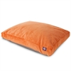 Majestic Orange Villa Collection Large Rectangle Pet Bed