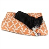 Peach Trellis Large Rectangle Pet Bed
