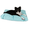 Teal Navajo Large Rectangle Pet Bed