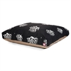 Black Coral Extra Large Rectangle Pet Bed