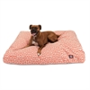 Majestic Orange Towers Extra Large Rectangle Pet Bed
