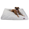 Majestic Grey Towers Extra Large Rectangle Pet Bed