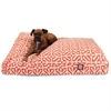 Majestic Orange Aruba Extra Large Rectangle Pet Bed