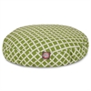 Sage Bamboo Small Round Pet Bed