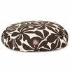 Chocolate Plantation Small Round Pet Bed