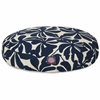 Navy Blue Plantation Small Round Pet Bed