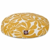 Majestic Yellow Plantation Small Round Pet Bed