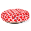 Majestic Red Links Small Round Pet Bed