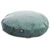 Azure Villa Collection Small Round Pet Bed
