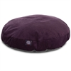 Aubergine Villa Collection Small Round Pet Bed