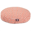 Orange Towers Small Round Pet Bed