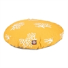 Majestic Yellow Coral Medium Round Pet Bed