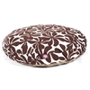 Chocolate Plantation Medium Round Pet Bed