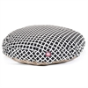 Majestic Black Bamboo Large Round Pet Bed