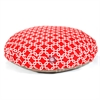Red Links Large Round Pet Bed