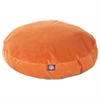 Majestic Orange Villa Collection Large Round Pet Bed