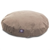 Pearl Villa Collection Large Round Pet Bed