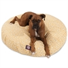 Majestic Citrus Towers Large Round Pet Bed