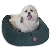 "Majestic 24"" Marine Villa Collection Micro-Velvet Bagel Bed By Majestic Pet Products"