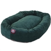 "Majestic 40"" Marine Villa Collection Micro-Velvet Bagel Bed By Majestic Pet Products"