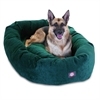 "Majestic 52"" Marine Villa Collection Micro-Velvet Bagel Bed By Majestic Pet Products"