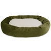 "Majestic 52"" Fern Villa Collection Sherpa Bagel Bed"