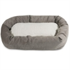 "Majestic 52"" Vintage Villa Collection Sherpa Bagel Bed"