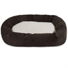 "Majestic 24"" Storm Villa Collection Sherpa Bagel Bed"