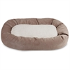 "Majestic 52"" Pearl Villa Collection Sherpa Bagel Bed"