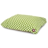Sage Bamboo Small Rectangle Pet Bed