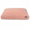 Orange Towers Small Rectangle Pet Bed