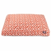 Majestic Orange Aruba Small Rectangle Pet Bed