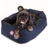 "24"" Blue Bagel Bed By Pet Products"