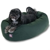 "24"" Green Bagel Bed By Pet Products"