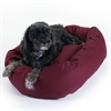 "24"" Burgundy Bagel Bed By Pet Products"