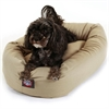"Majestic 24"" Khaki Bagel Bed By Majestic Pet Products"