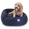 "Majestic 32"" Blue Bagel Bed By Majestic Pet Products"
