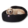 "Majestic 40"" Black Bagel Bed By Majestic Pet Products"