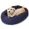 "40"" Blue Bagel Bed By Pet Products"
