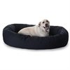 "Majestic 52"" Black Bagel Bed By Majestic Pet Products"