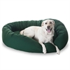 "Majestic 52"" Green Bagel Bed By Majestic Pet Products"