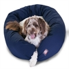 "Majestic 52"" Blue & Sherpa Bagel Bed By Majestic Pet Products"